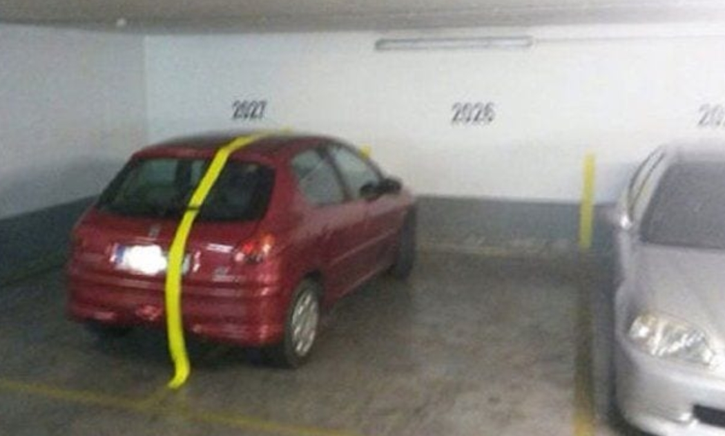 Follow The Yellow Paint Line