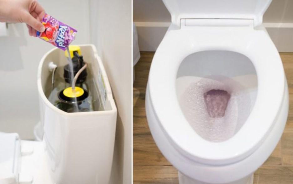 15. Locate A Toilet Leak Using Kool-Aid