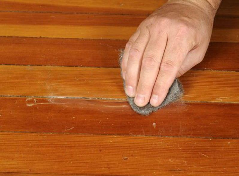 50. Erase Scratches On Wooden Floors