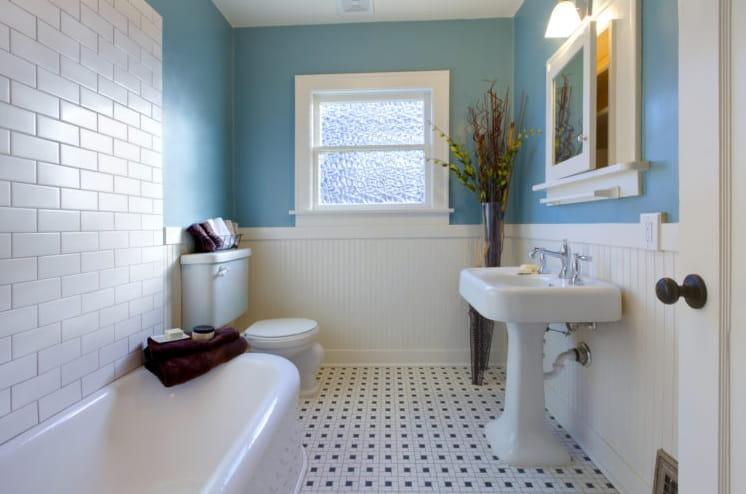 Helps Brighten The Bathroom